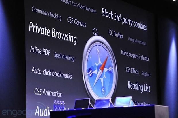 Safari OS X Maverics