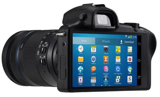 Samsung Galaxy NX mirrorless camera 01
