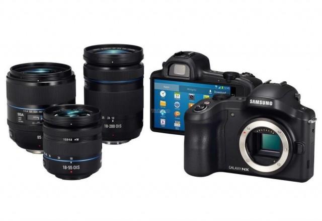 Samsung Galaxy NX mirrorless camera 02