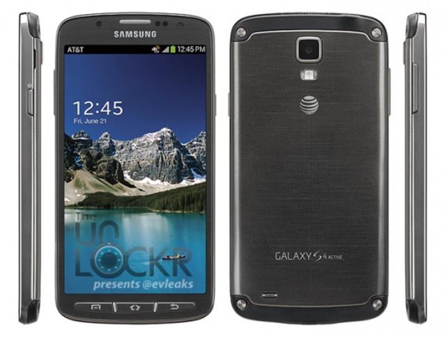 Samsung Galaxy S4 Active leak