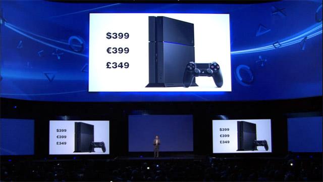 """Με τέσσερα κατοστάρικα παίρνεις το PS4 με το χειριστήριό του -και ποιος ξέρει τι άλλο. Καλή τιμή για high end κονσόλα του κουτιού, έτσι; Α, και ένα κατοστάρικο πιο κάτω απ"""" αυτή του Xbox One. Μην ξεχνιόμαστε…"""