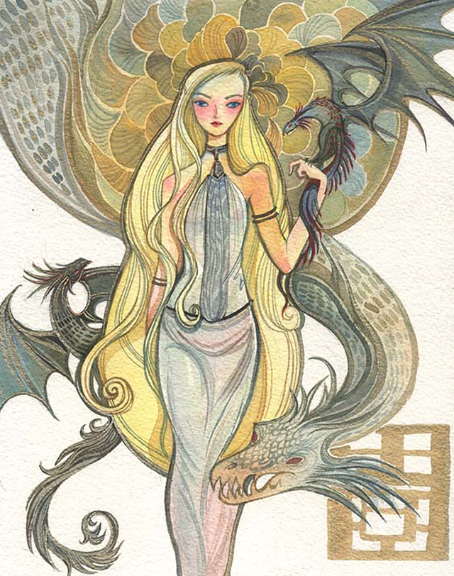 Game of Thrones artwork by Alina Chau 02