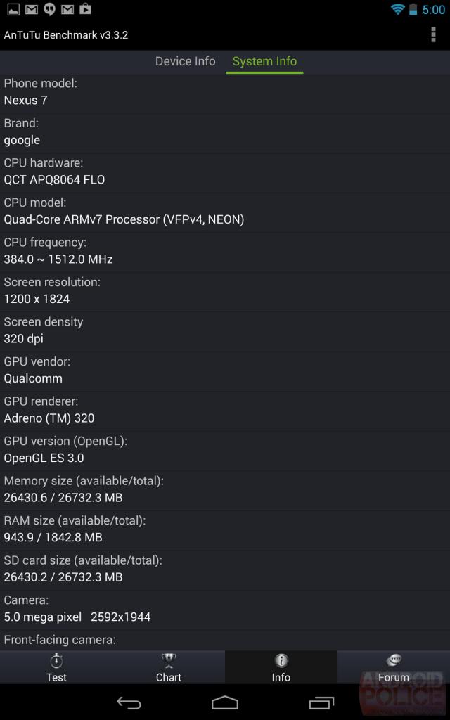 Google Nexus 7 AnTutu - 01