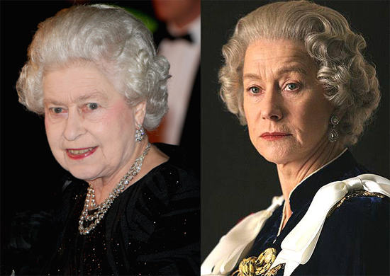 H Helen Mirren ως Βασίλισσα Ελισάβετ ΙΙ (The Queen,2007)