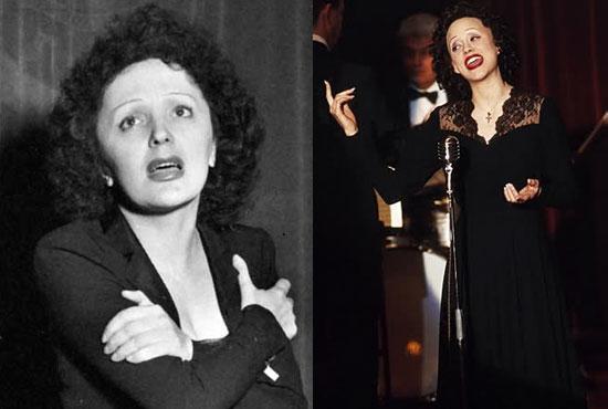 H Marion Cotillard ως Edith Piaf (La Vie en Rose,2008)