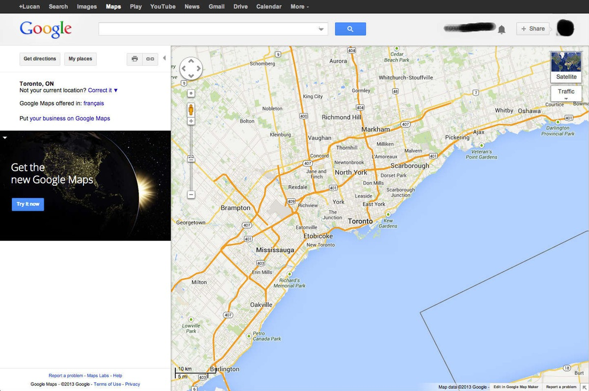 how to get there google maps