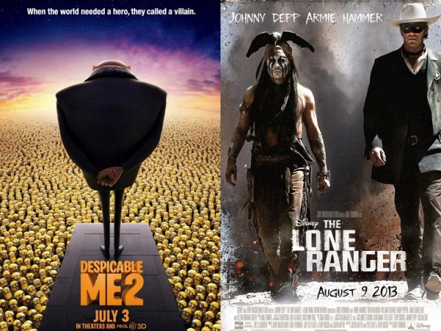 despicable-me-2-vs-the-lone-ranger-fourth-of-july-weekend