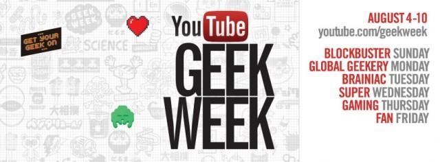 youtube geek week