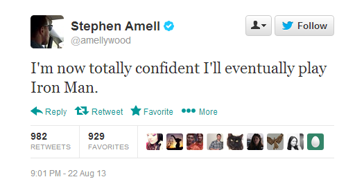 8-23 Tweets Amell