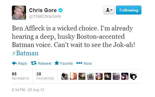 8-23 Tweets Gore