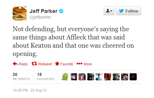 8-23 Tweets Parker