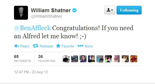 8-23 Tweets Shatner