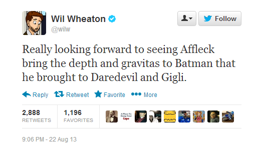 8-23 Tweets Wheaton