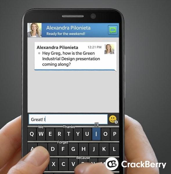Για το blackberry z15 δεν γνωρίζουμε ακόμη το
