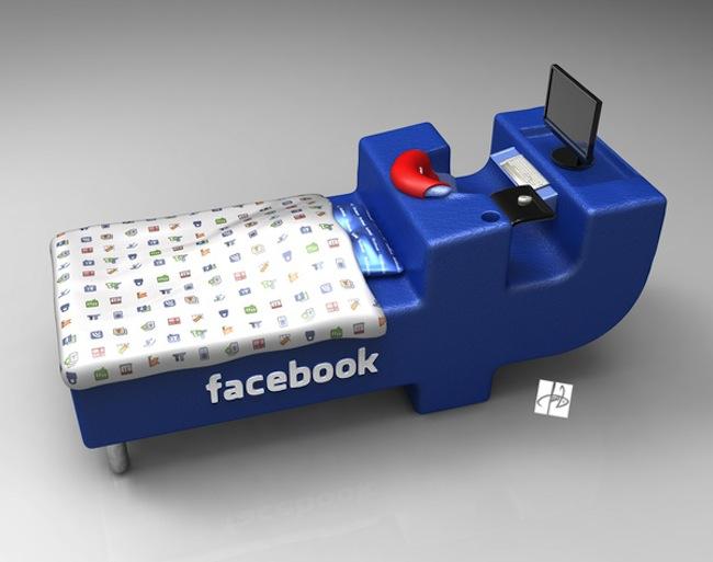 Facebook bed