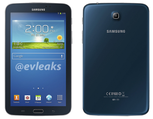 samsung galaxy tab 3 7 inches blue