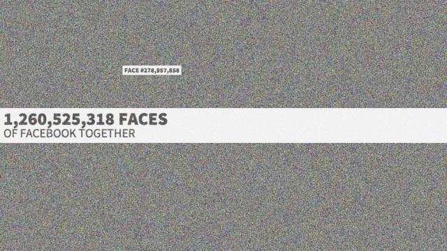 Faces of Facebook