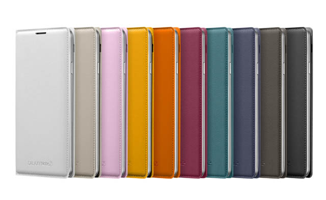 Galaxy Note3 FlipCover_005_Front set