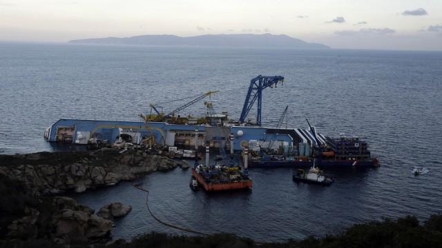 Italy Ship Aground
