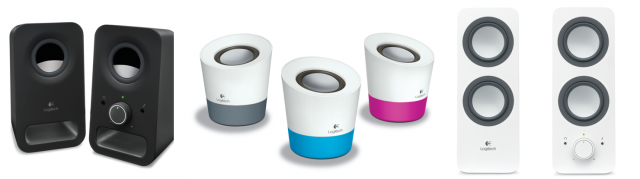 logitech all new speakers