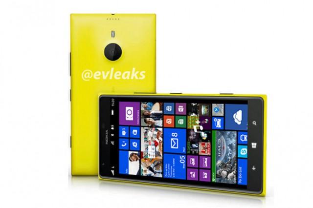 Nokia Lumia 1520 evleak