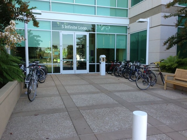 and-so-on-each-of-these-entrances-have-their-own-separate-lobbies-and-like-most-famous-silicon-valley-companies-they-all-have-bike-racks-as-well