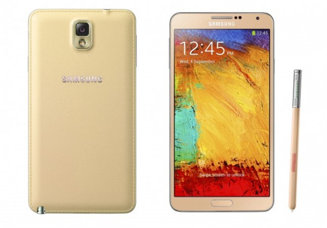 Samsung Galaxy Note 3 Red White Gold 02