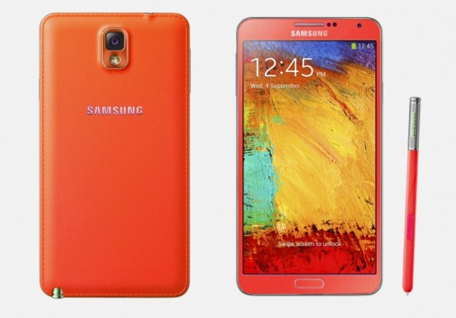 Samsung Galaxy Note 3 Red White Gold 03
