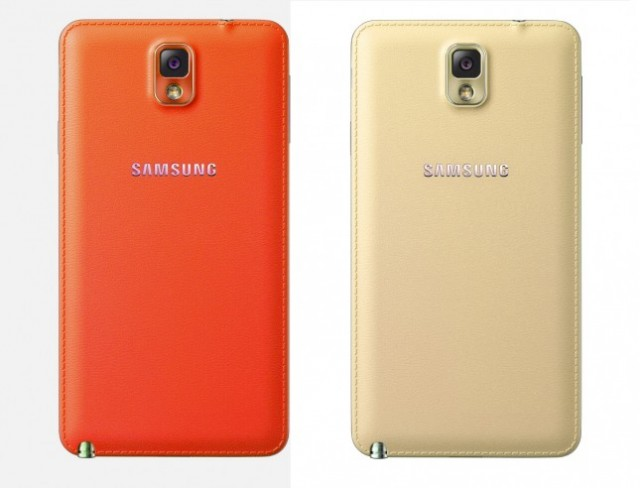 Samsung Galaxy Note 3 Red White Gold