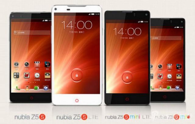 ZTE-Nubia-Z5S