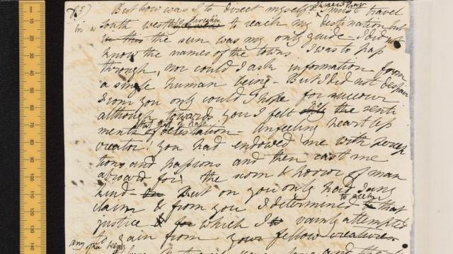 frankestein_manuscript
