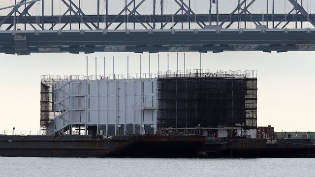 Mystery Barge Construction Project Rumored To Google Project