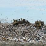 hard drive containing Bitcoin Newport landfill