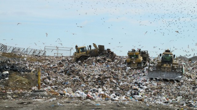 hard drive containing Bitcoin Newport landfill