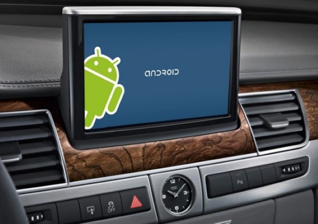 Android in car auto vehicle (Small)