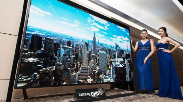 Samsung Ultra HD TV 110 ιντσών
