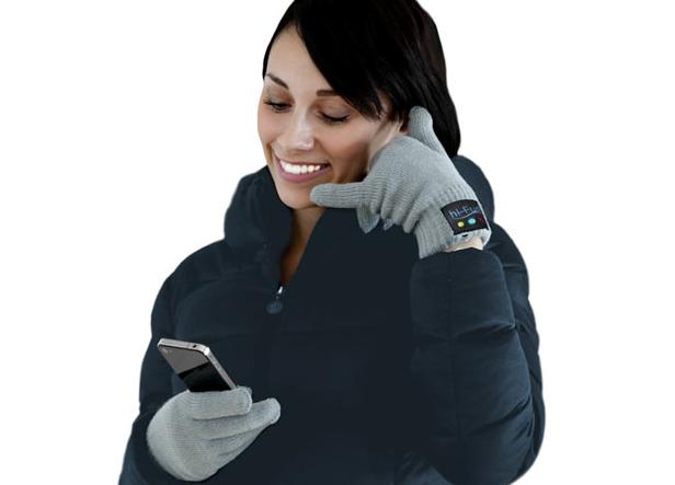 Γάντια Bluetooth Hands-free Hi-Call Black 02