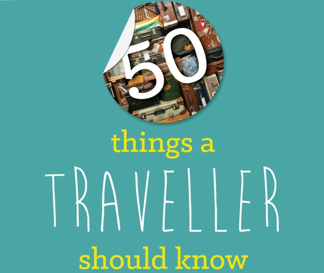 50 things a traveller should know infographic-quiz