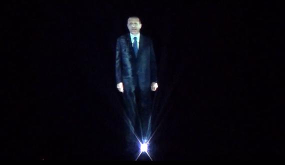 Erdogan-hologram