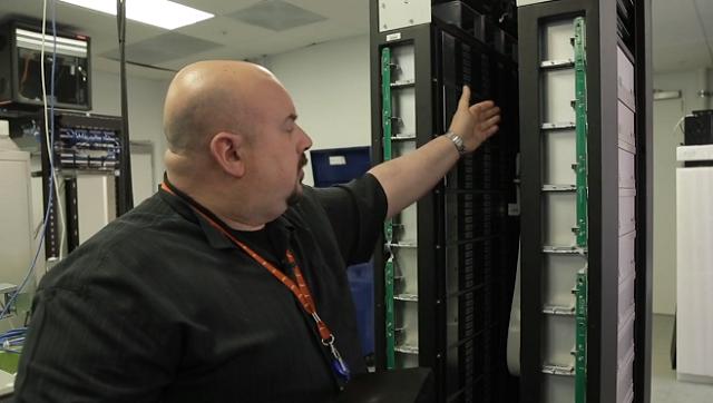 Facebook prototype storage system Blu-ray
