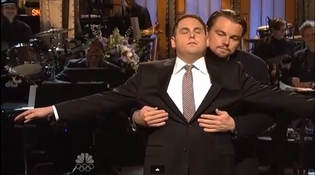 Jonah Hill SNL Monologue with Leonardo DiCaprio