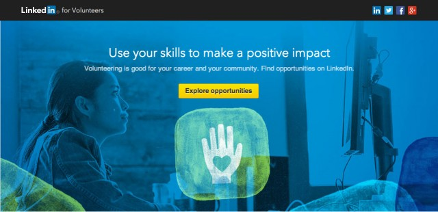 LinkedIn Volunteer Marketplace