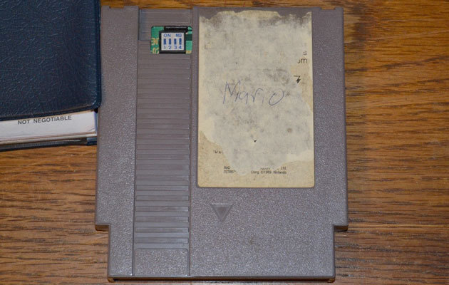 Nintendo World Championships NES game cartridge
