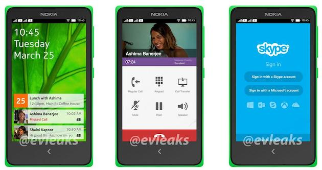 Nokia Android Phone UI