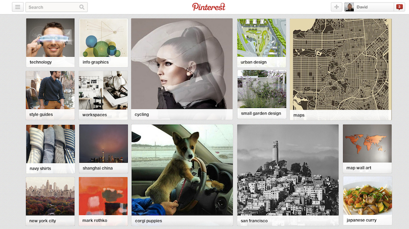 pinterest preview explore interests