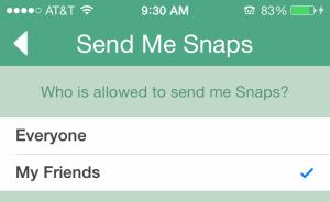 snap-settings