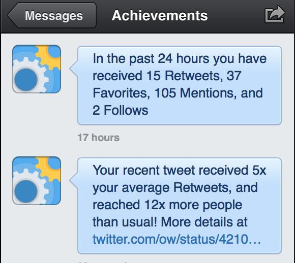 twitter achievementbird analytics