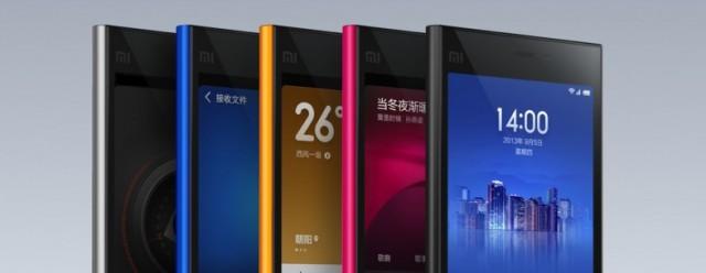 xiaomi smartphones 2013