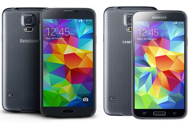 GooPhone S5 vs Samsung Galaxy S5