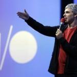 O Larry Page στο Google I/O